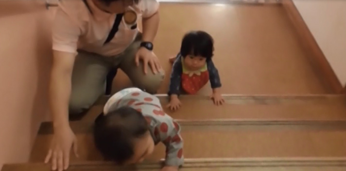 Learning to climb the stairs independently